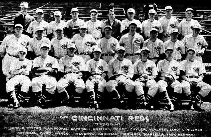 1936 Cincinnati Reds (NATIONAL BASEBALL HALL OF FAME LIBRARY)