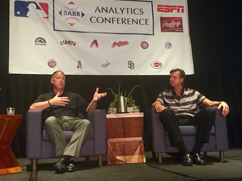 Luis Gonzalez and Randy Johnson