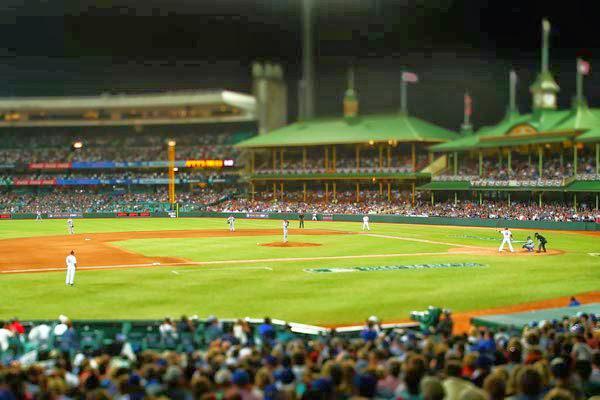 The Dodgers and Diamondbacks opened the 2014 MLB season at the Sydney Cricket Ground in Australia (JAN LARSON)