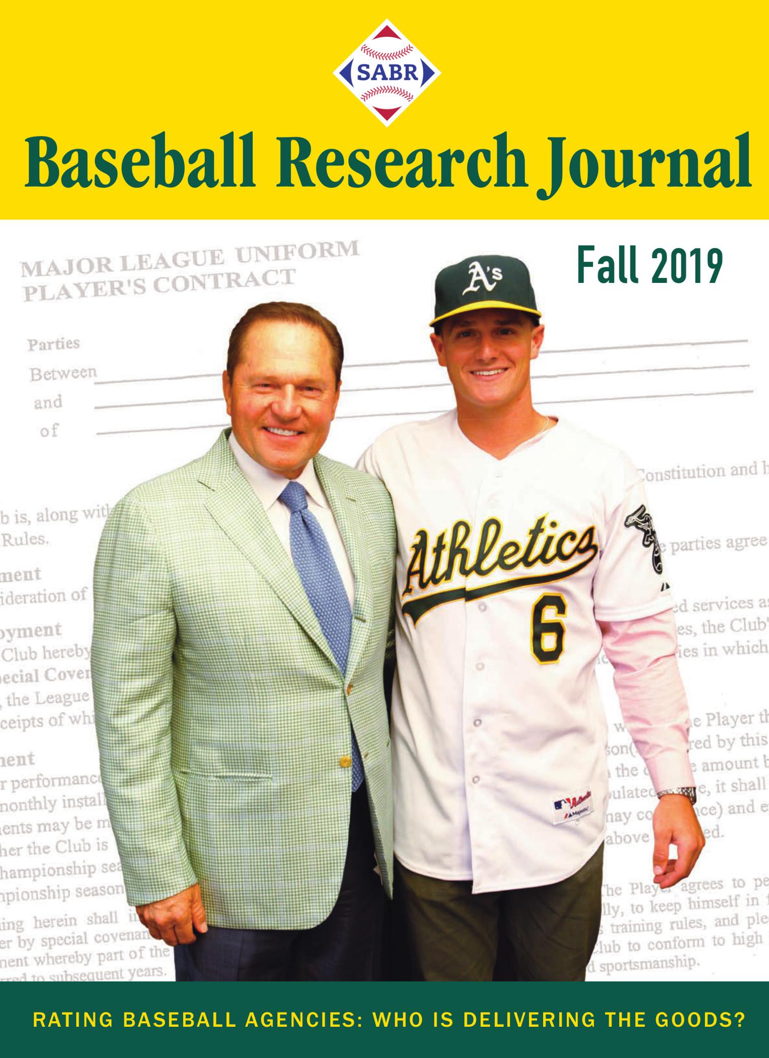 Fall 2019 Baseball Research Journal