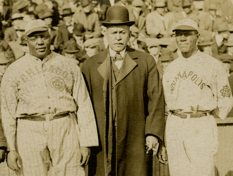 Rube Foster, J.D. Howard, and C.I. Taylor