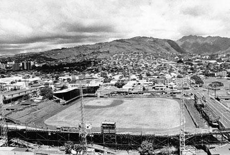 Honolulu Stadium Society For American Baseball Research