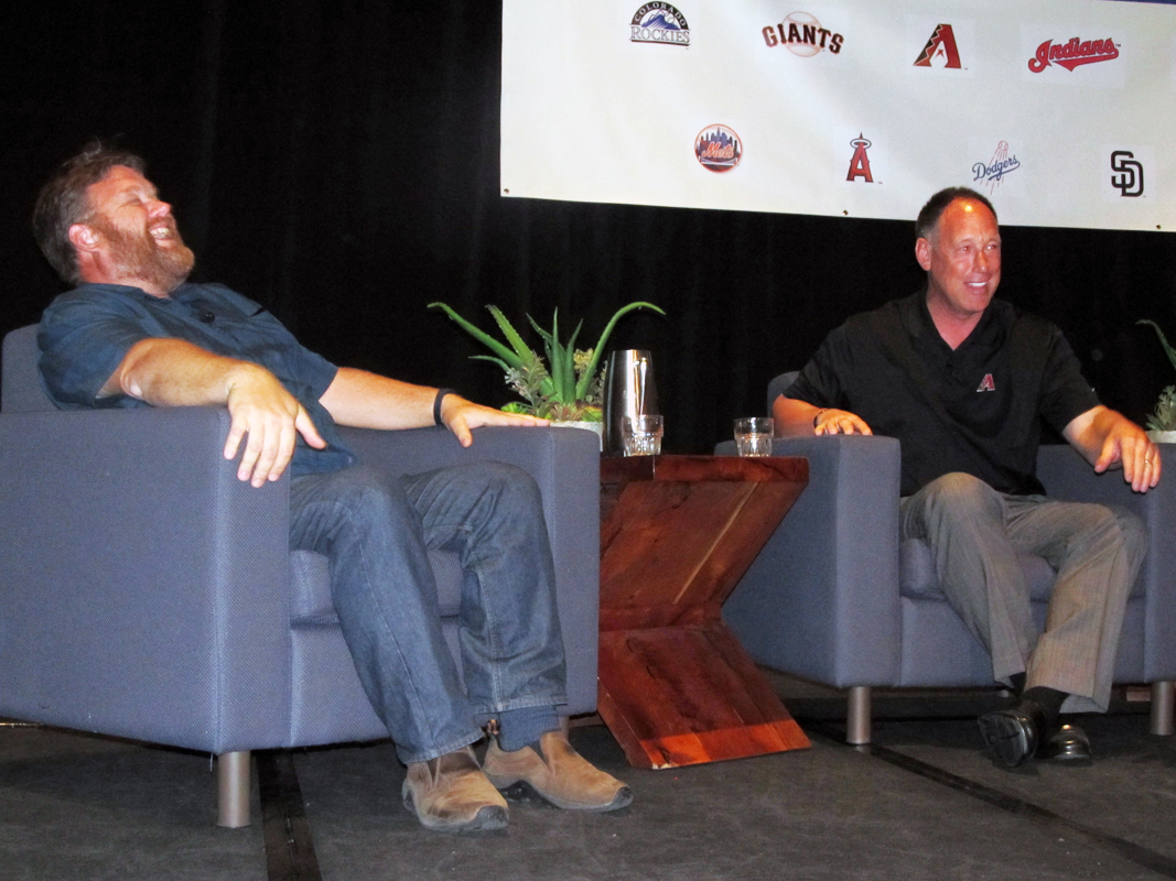 Mike Ferrin and Luis Gonzalez