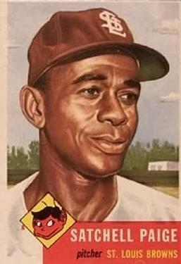 Satchel Paige (THE TOPPS COMPANY)