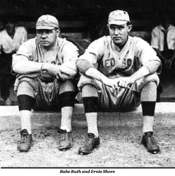Babe Ruth and Ernie Shore