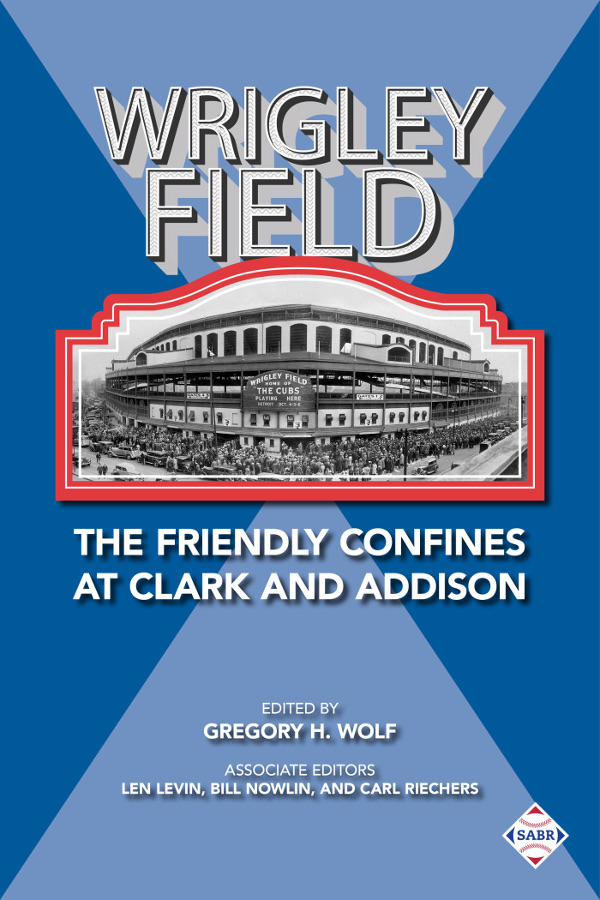 Wrigley Field book cover