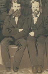 Doc Adams and James Whyte Davis