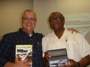 Sam Zygner and author Donald Spivey