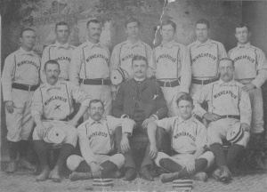 1884 Minneapolis baseball team