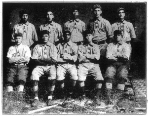 1912 All Nations team