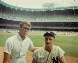 Andy Strasberg and Roger Maris, 1966