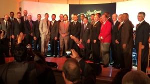 2013 Rawlings Gold Glove Award winners and presenters