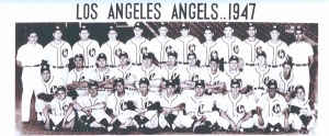 1947 Los Angeles Angels: Clarence Maddern is top row, second from left.