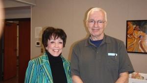 Carol McKechnie Montgomery and George Gedda