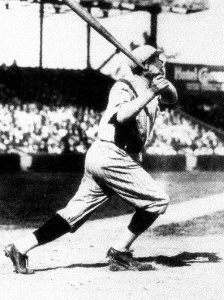 Babe Ruth in 1921