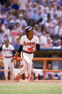 Rod Carew: went 0-5 in a loss to Oakland during the SABR 10 convention ballgame in 1980.