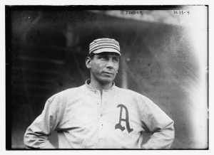 Chief Bender: His major league career was essentially over when he pitched for the Hog Island team in 1918.