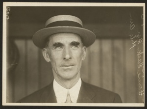 Connie Mack: Hall of Fame manager kept a close eye on Rube Waddell in 1905.