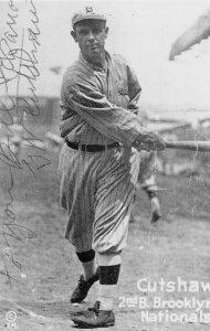 George Cutshaw: Most famous alumni of the 26-inning game against Decatur on May 31, 1909. He played more than 1,500 major league games.