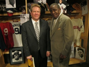 David Fletcher and Minnie Minoso