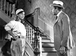 """""""On Moonlight Bay"""": Marjorie Winfield (Doris Day) wants to play with the boys — for a while, at least — in this 1951 film."""