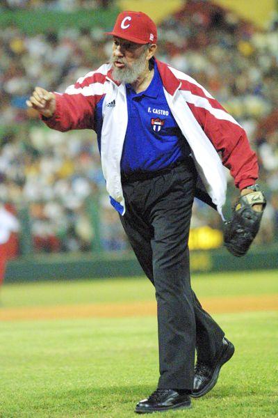 Resultado de imagen de fidel castro Beisbol barbudos