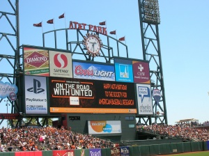 San Francisco Giants' message to SABR for 40th anniversary
