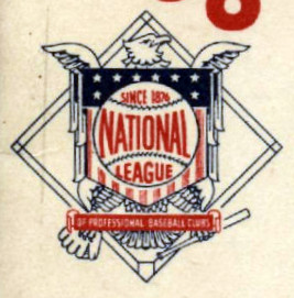 National League logo, circa 1957