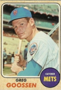 Greg Goossen: Former Mets catcher appeared in 18 films from 1989 to 2003.