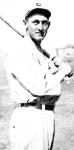 In 1924, he pinch-ran 10 times for the Cardinals and scored five runs, although he had no base-stealing attempts.