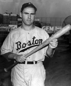 Tommy Holmes: Bay Ridge product hit .302 in 11 big league seasons and hit safely in 37 consecutive games in 1945.