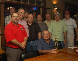 Members of the Rogers Hornsby Chapter