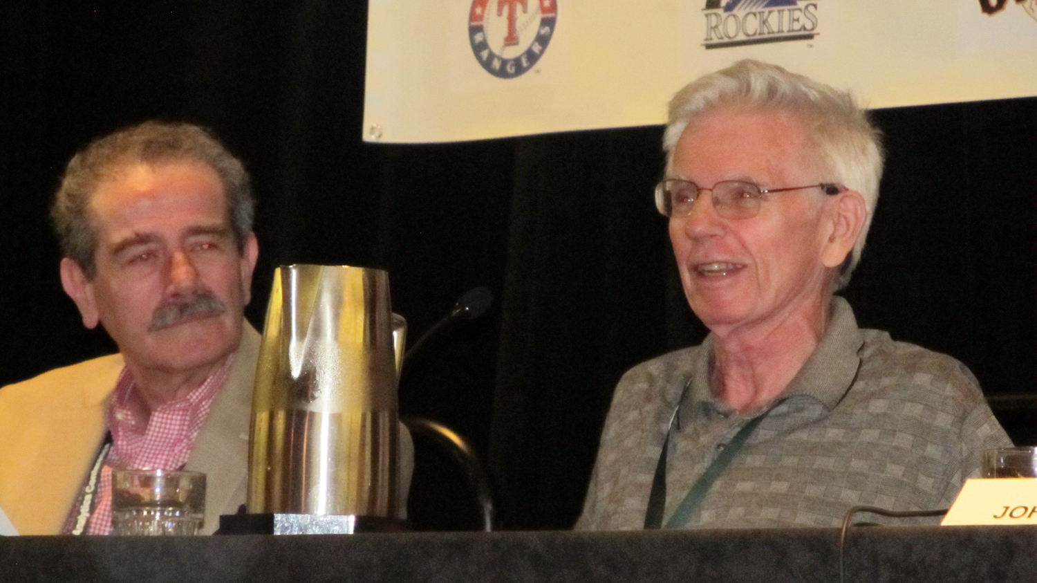 Frequent collaborators were panelists at the 2015 SABR Analytics Conference in Phoenix.