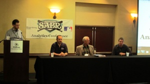 SABR Analytics Conference: Changing Face of Baseball Data panel