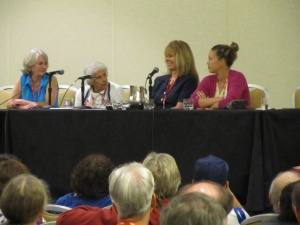 Women in Baseball Panel: Perry Barber, Sarah Ferguson, Susan Ingersoll Papaneri, Kristin Mills Caldwell