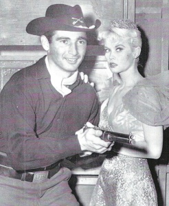 Sandy Koufax and Dorothy Provine