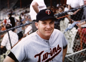 "Harmon Killebrew: spent most of two seasons on the Senators' bench because of the ""bonus-baby"" rule."