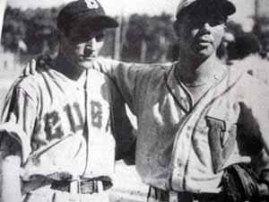 Conrado Marrero and rival Daniel Canonico