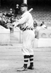 "Fred Merkle: Shown in 1912, when he hit .309 with 11 homers (third-best in the NL), 84 RBI, and 37 steals and finished 18th in MVP voting. Pretty good for a ""bonehead."""
