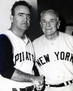 Danny Murtaugh and Casey Stengel