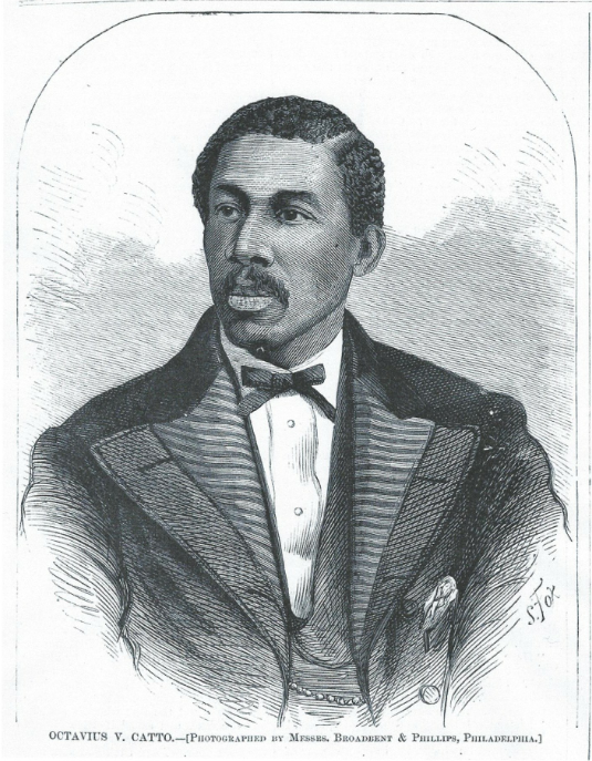 Civil rights activist founded the Philadelphia Pythians in 1866.