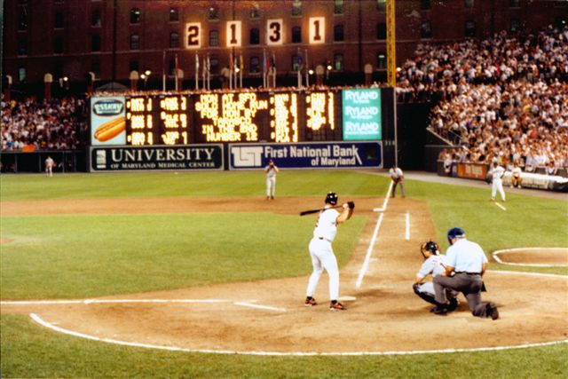 Ripken's Record for Consecutive Innings Played