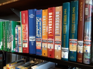 SABR Collection: San Diego baseball research center includes more than 3,000 publications and 300 microfilm reels, all available to the public.