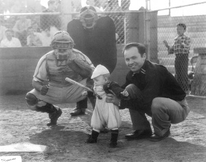 Saul Toledo: with son Saul Jr. at Belvedere Park in East Los Angeles, circa 1964.