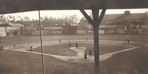 Washington Park: Pacific Coast League game, circa 1910.