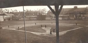 Washington Park: Pacific Coast League game, circa 1910.