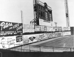 By the late 1940s, lights had been added and the dimension of left field had been set at 337 feet.