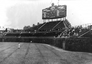 Low attendance: The moribund postwar Cubs didn't recover their fan base until 1967.