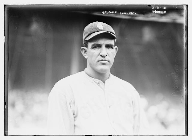 Left-hander was the Cubs' big winner in 1915.