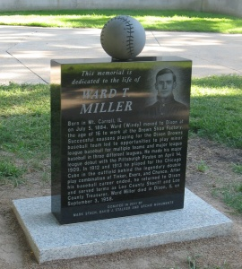 Ward Miller monument dedication 8/21/2011